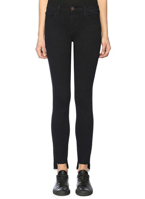 J Brand Yüksek Bel Slim Fit Jean Pantolon Lacivert